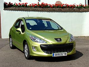Технические характеристики Peugeot 308 1.6 16V VTi 2007-2011 г.
