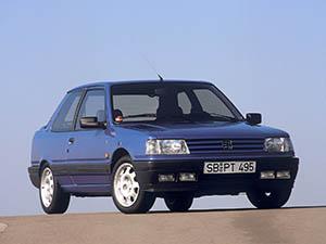 Технические характеристики Peugeot 309