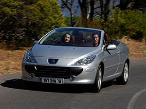 Технические характеристики Peugeot 307 CC 1.6-16V 2005-2009 г.