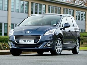 Технические характеристики Peugeot 5008 1.6 2013- г.
