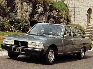 Технические характеристики Peugeot 604