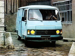 Технические характеристики Peugeot J9