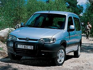 Технические характеристики Peugeot Partner Combispace 1.6 1997-2002 г.