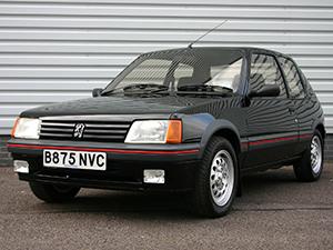 Технические характеристики Peugeot 205 1.0 1987-1998 г.