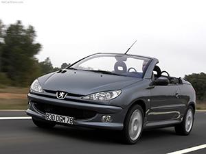 Технические характеристики Peugeot 206 CC