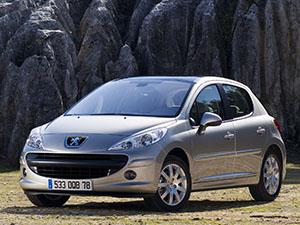 Технические характеристики Peugeot 207