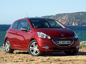 Технические характеристики Peugeot 208 1.6 VTi 2012- г.