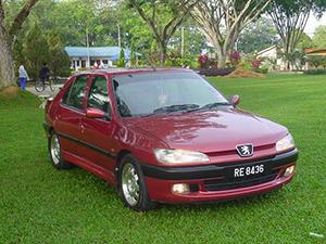 Технические характеристики Peugeot 306 2.0i 1994-1997 г.