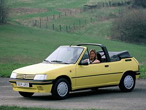 Технические характеристики Peugeot 205 CT 1.4 1987-1994 г.