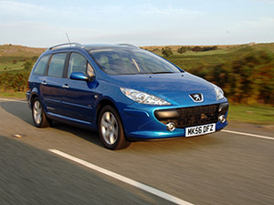 Технические характеристики Peugeot 307 1.6-16V 2005-2008 г.