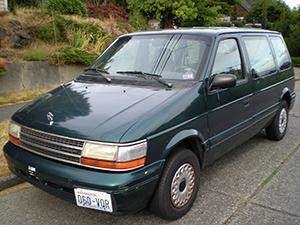 Plymouth Voyager 4 дв. минивэн Voyager