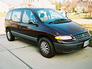 Технические характеристики Plymouth Voyager