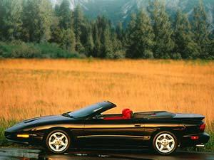 Pontiac Firebird 2 дв. кабриолет Convertible