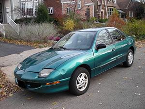 Pontiac Sunfire 4 дв. седан Sunfire