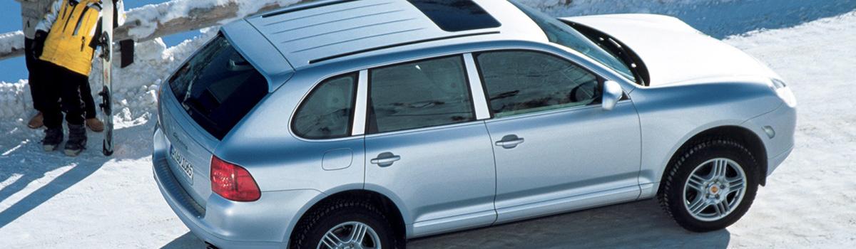 porsche cayenne turbo 2007 технические характеристики