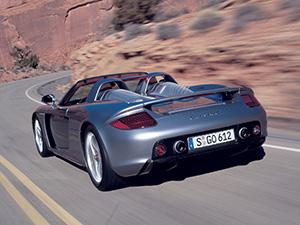 Porsche Carrera GT 2 дв. кабриолет Carrera GT