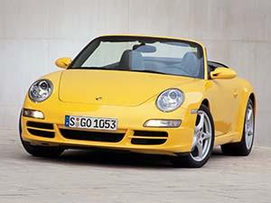 Технические характеристики Porsche 911 Turbo Cabriolet 2005-2010 г.