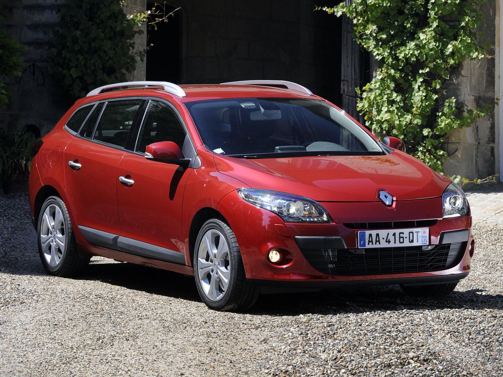 Renault (Рено) Megane Estate 2009-2012 г.