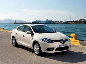 Renault Fluence 4 дв. седан Fluence