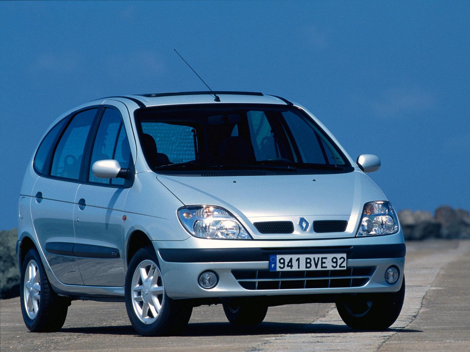 Renault (Рено) Scenic 2001-2003 г.