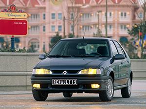 Технические характеристики Renault 19 1.8 1992-1994 г.