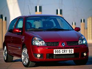 Технические характеристики Renault Clio 1.5 DCi 2003-2005 г.