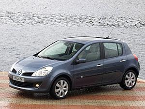 Технические характеристики Renault Clio 2.0 16V 2005-2009 г.