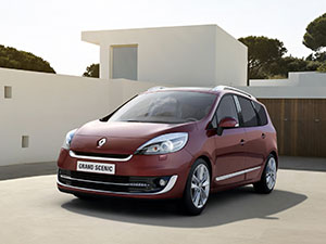 Технические характеристики Renault Grand Scenic