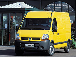 Технические характеристики Renault Master