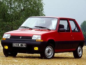 Технические характеристики Renault 5