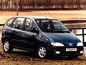 Технические характеристики Renault Megane 1.6e 1996-1999 г.