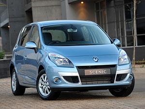 Технические характеристики Renault Scenic 1.4 2009-2012 г.
