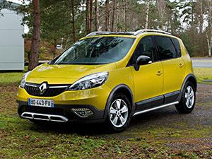 Технические характеристики Renault Scenic XMOD