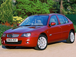 Технические характеристики Rover 25 1.6 2004-2005 г.