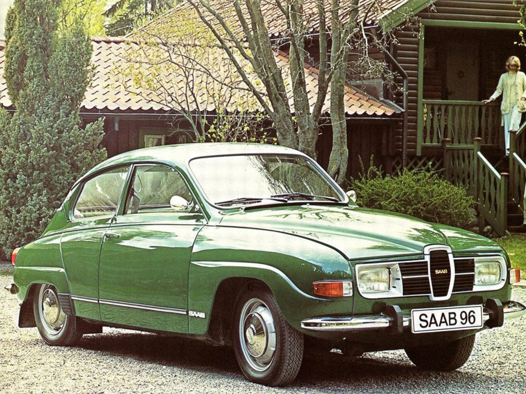 Saab (Сааб) 96 1966-1975 г.