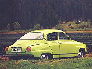 Saab 96 2 дв. седан 96
