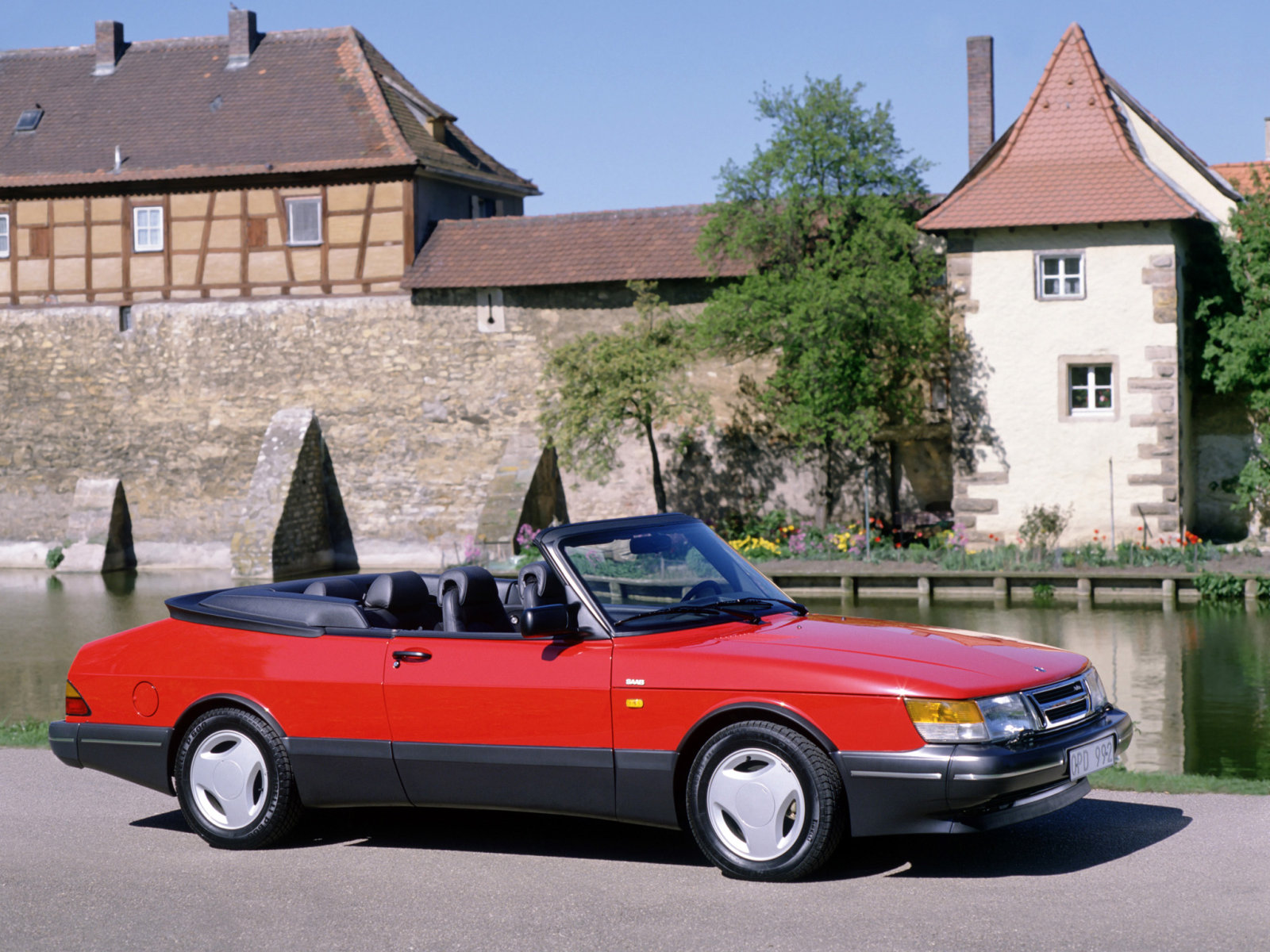 Saab (Сааб) 900 Cabrio 1986-1994 г.