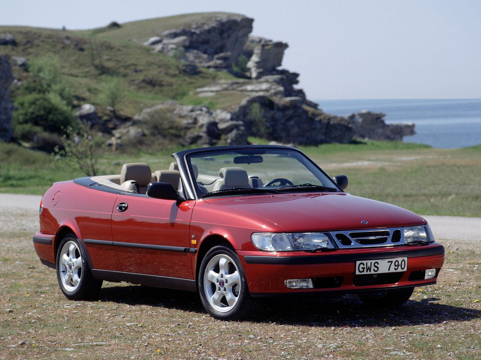 Saab (Сааб) 9-3 Cabriolet 1998-2003 г.