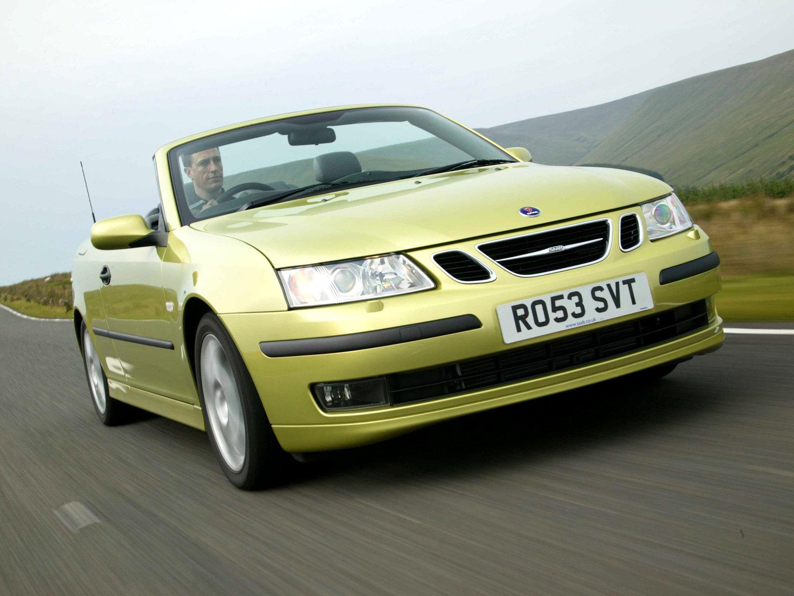 Saab (Сааб) 9-3 Cabriolet 2003-2007 г.