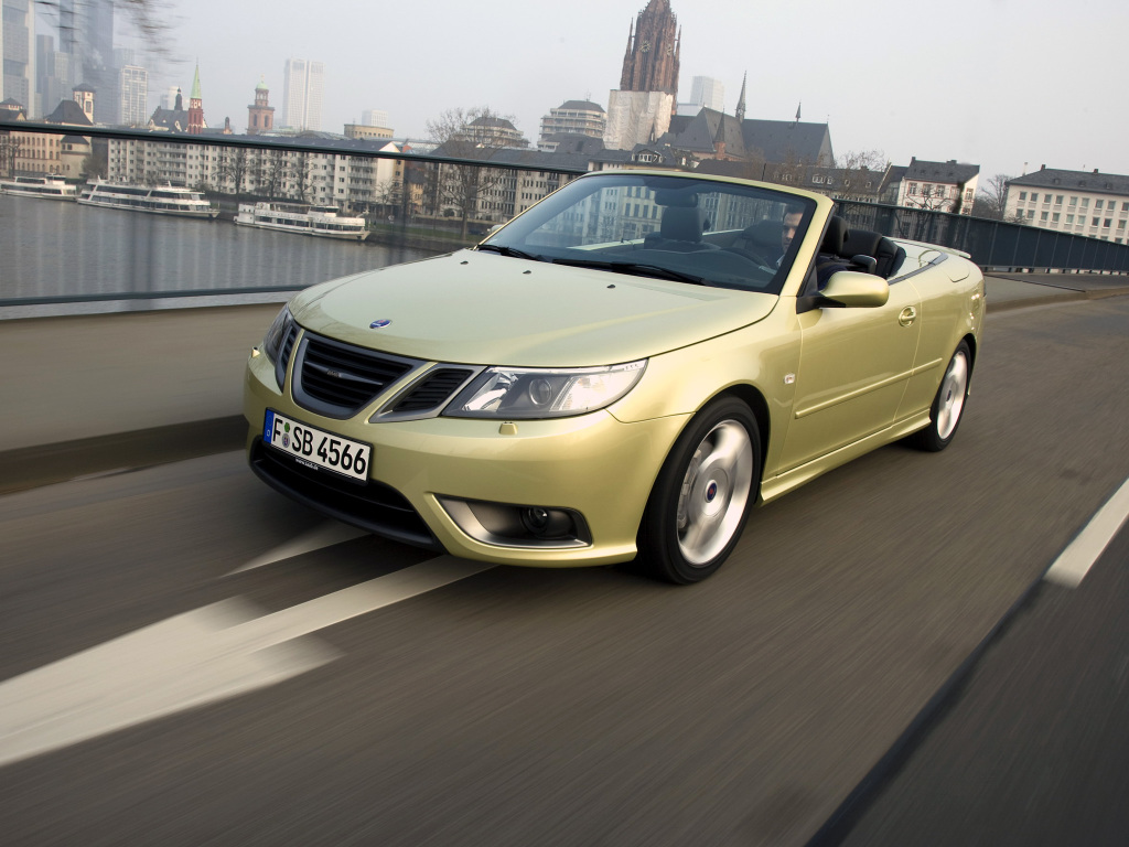 Saab (Сааб) 9-3 Cabriolet 2007-2010 г.