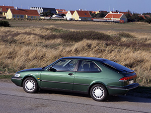 Saab 900 3 дв. купе Coupe