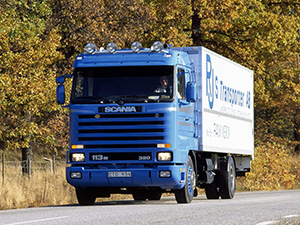 Scania 3-series 2 дв. шасси 93 M