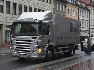 Scania P-series 2 дв. шасси P94