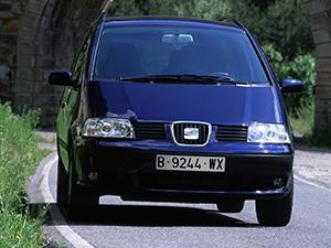 Технические характеристики Seat Alhambra 2.0 TDi 2000-2010 г.