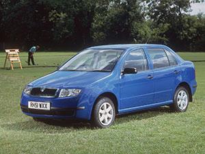Skoda Fabia 4 дв. седан Sedan