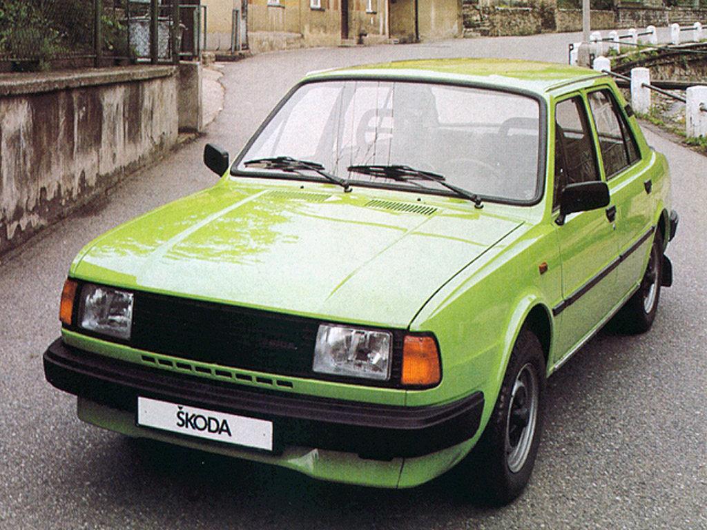 Технические характеристики Skoda 100-Serie
