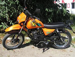 Skymoto DTR 125 кроссовер DTR 125