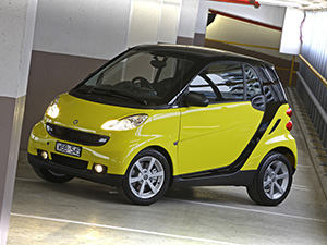 Smart Fortwo 3 дв. купе Coupe