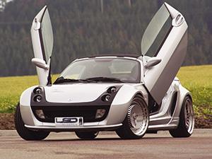 Технические характеристики Smart Roadster