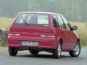 Subaru Justy 5 дв. хэтчбек Justy